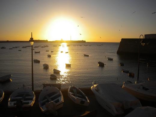 Ma dernière dose de soleil sur la plage de Cadix, en Andalousie...